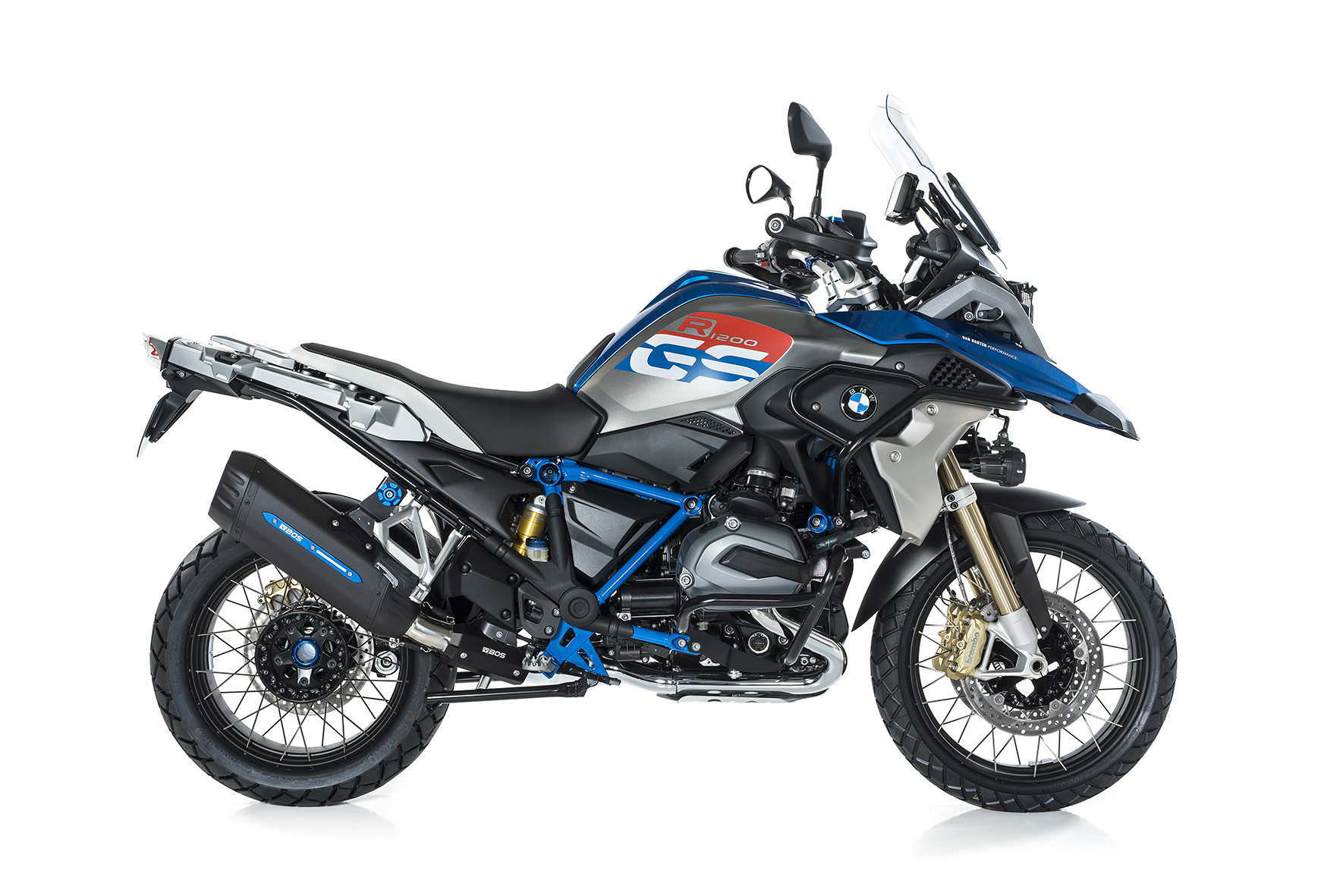 BMW R 1200 GS / Adventure ab 2017 BOS Desert Fox Rallye Edition